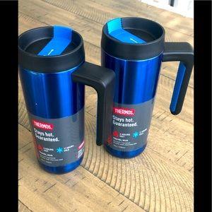 18 oz Thermos travel mugs